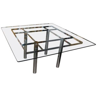 Afra and Tobia Scarpa for Knoll Dining Table For Sale