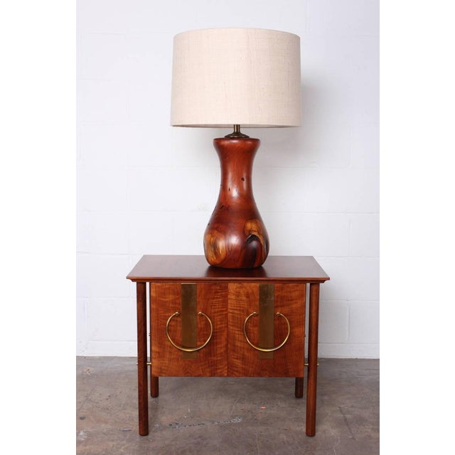 Hand-Crafted Mesquite Wood Lamp - Image 5 of 10