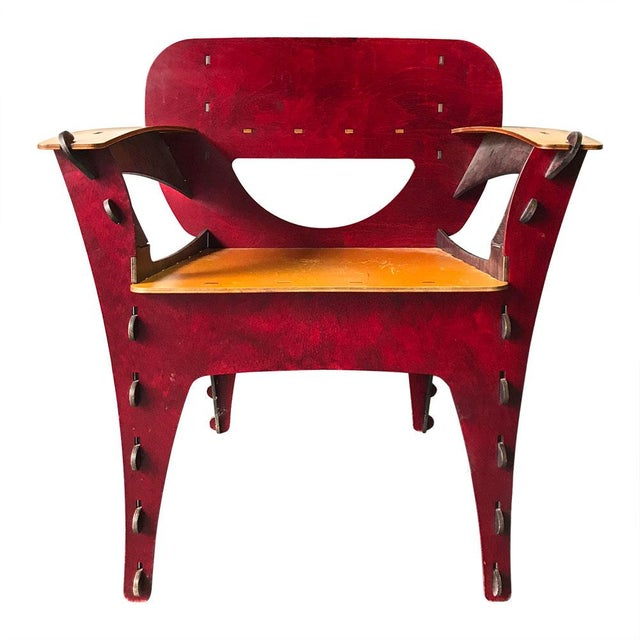 Modern Puzzle Chair by David Kawecki For Sale - Image 11 of 11