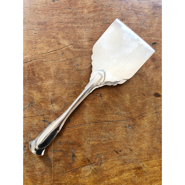 1960s Cartier Sterling Silver Asparagus Tongs For Sale - Image 11 of 11