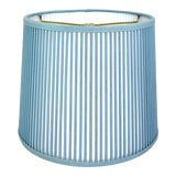 """Image of Retro Drum Stick Shade in Solid Light Blue, 10"""" For Sale"""