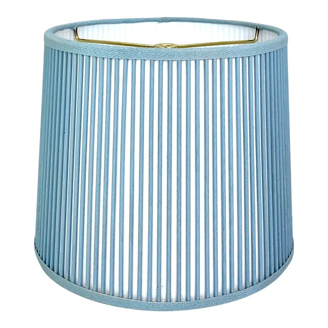 """Retro Drum Stick Shade in Solid Light Blue, 10"""" For Sale"""