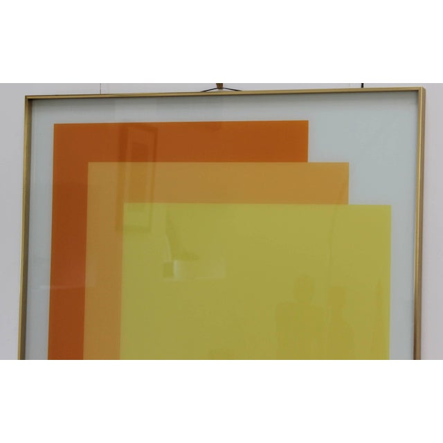Turner 1970s Modern Op Wall Art by Turner For Sale - Image 4 of 11