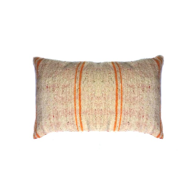 Striped Moroccan Berber Pillow - Image 3 of 3
