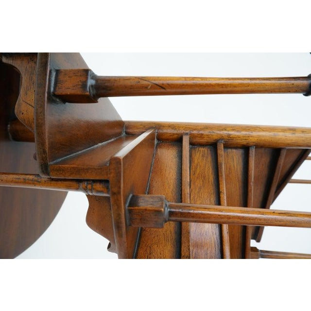 Wood Vintage Spiral Staircase Architectural Model in Mahogany For Sale - Image 7 of 12