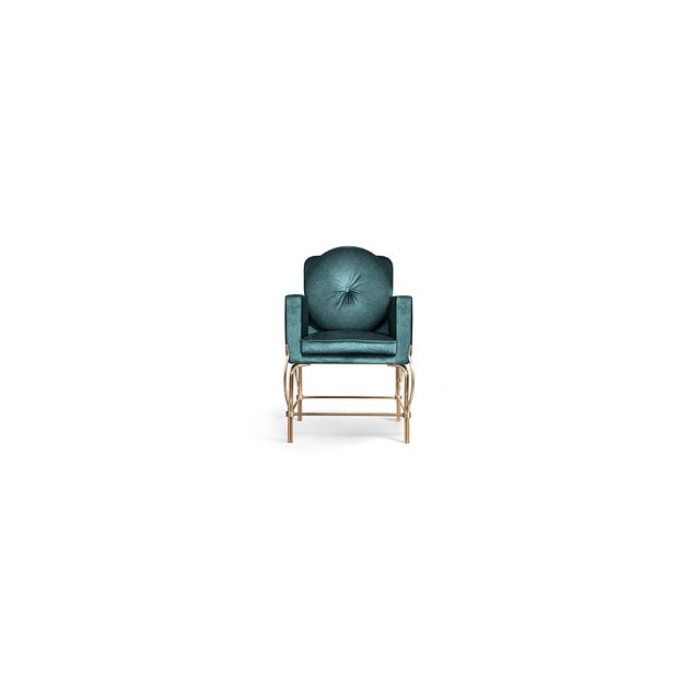 Gold Hemma Chair From Covet Paris For Sale - Image 8 of 8