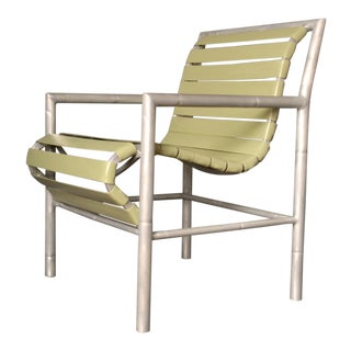 Set of Three Outdoor Armchairs, 1960s Usa For Sale