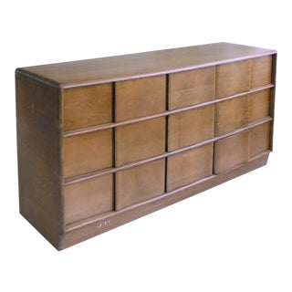 Heywood Wakefield Sculptura Dresser 9 Drawer Chest
