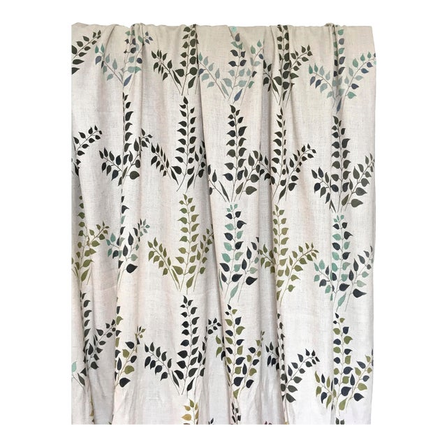Leaves Fabric in Calm, Sample For Sale