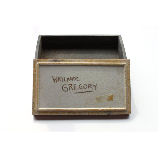 Art Deco Waylande Gregory Mid-Century Lidded Box For Sale - Image 3 of 4