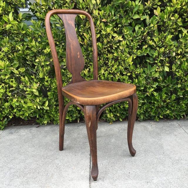 J & J Kohn Austrian Bistro Chairs - A Pair - Image 3 of 7