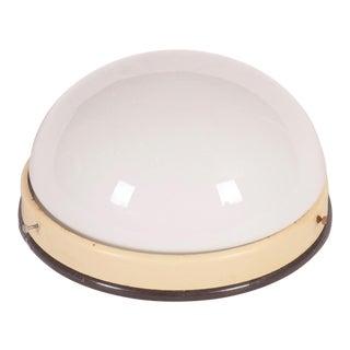 Medium Industrial Bakelit Wall Lamp or Ceiling Lamp, 1940s For Sale