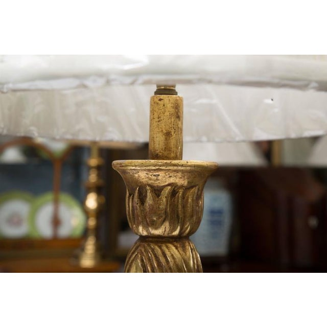 Giltwood Deco Style Table Lamp - Image 2 of 7