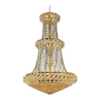Palacial Swaroski Crystal Chandelier For Sale