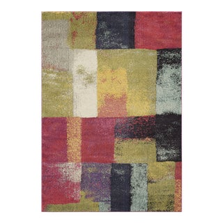 "Contemporary Momeni Casa Polypropylene Multi Area Rug - 5'3"" X 7'6"" For Sale"