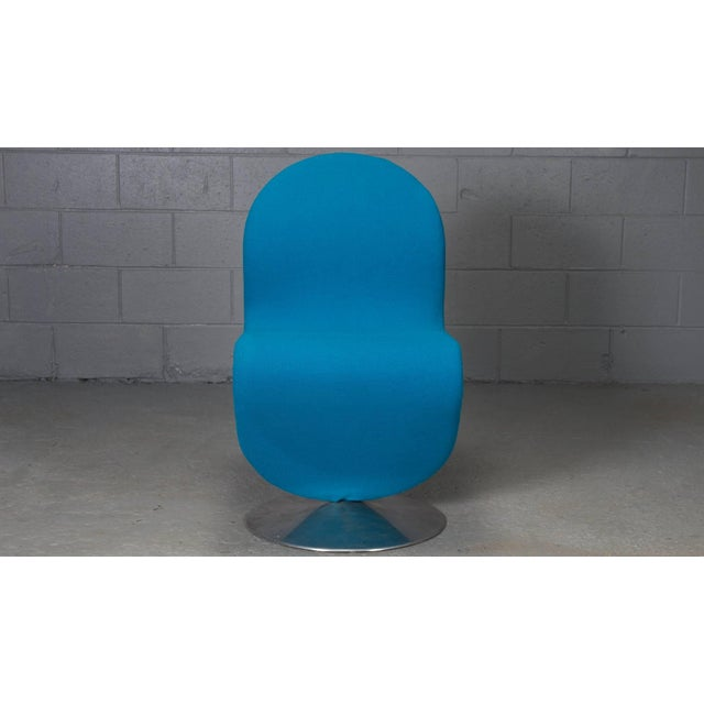 Mid-Century Modern Danish Modern 1-2-3 Chairs by Verner Panton for Fritz Hansen, 1950s- Set of 6 For Sale - Image 3 of 11