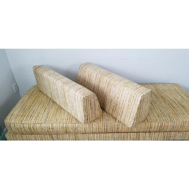 1950s George Nelson for Herman Miller Convertible Daybed Sofa With Hairpin Legs . For Sale - Image 5 of 13