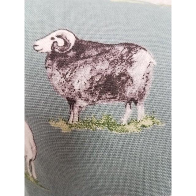 Baby Blue Sheep Pillow