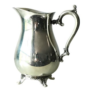 1950s Vintage Wm Rogers Silver Plate Pitcher