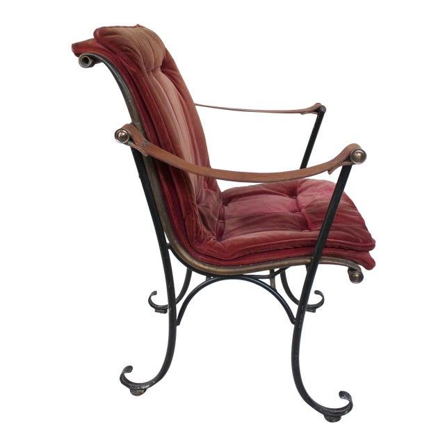 Vintage Campaign Chair For Sale