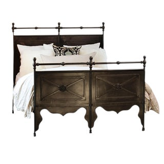 Cast Iron Eastern King Bed Frame For Sale