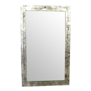 Chinese Silver Mirror Frame For Sale