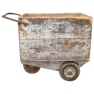 1920s Vintage Rustic Barn Cart For Sale