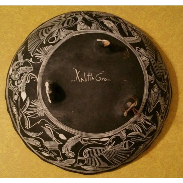 Mexican Handpainted Bowl With Birds, X. Guerrero - Image 3 of 8