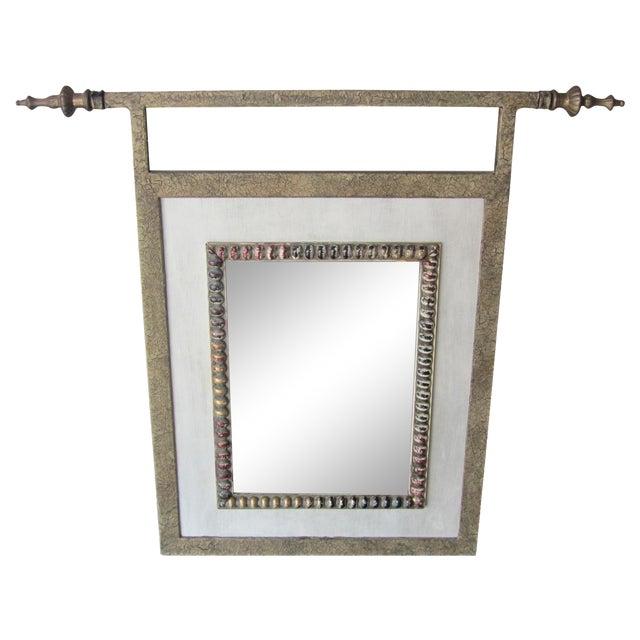 John Richard Small Mirror With Finials - Image 1 of 9