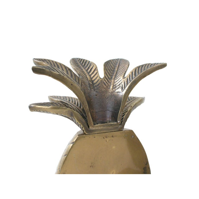 Brass Pineapple Bookends - A Pair - Image 8 of 8