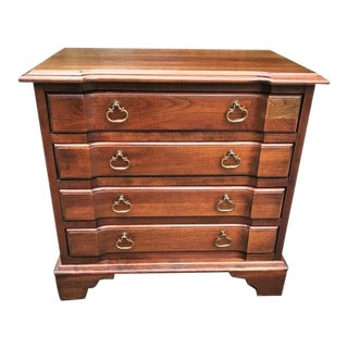 Kling Solid Cherry Small 4 Drawer Chest For Sale