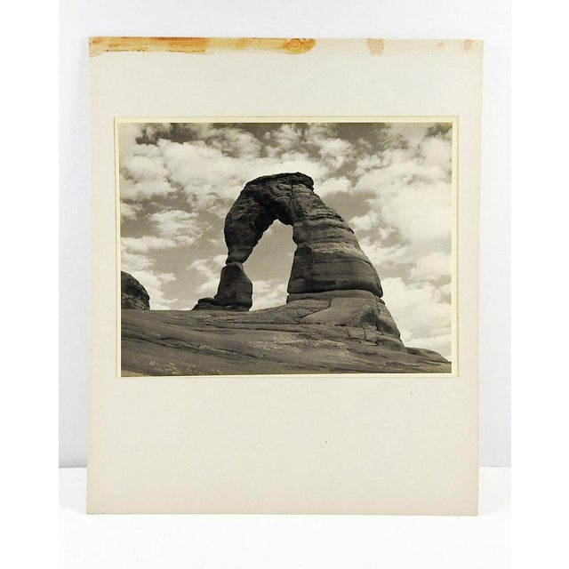 1950's Vintage Arches National Park Photograph For Sale - Image 4 of 4