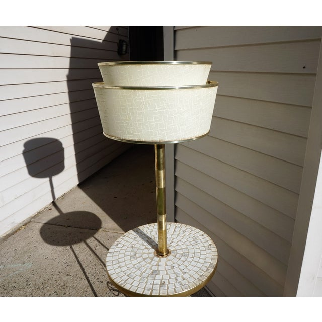 Italian Space Age Table Floor Lamp - Image 8 of 10