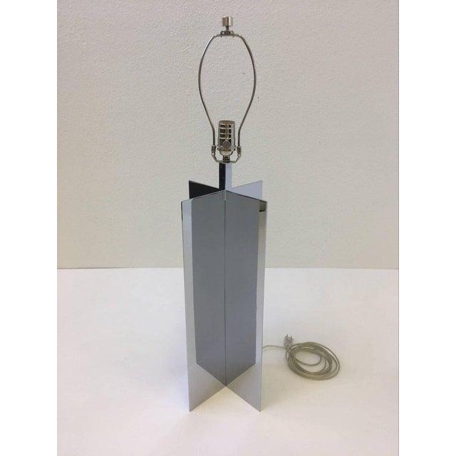Aluminum Polished Aluminium Table Lamps by Paul Mayen for Habitat - A Pair For Sale - Image 7 of 10