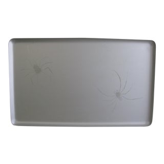 Eduardo Garza for Formentero Decorative Silver Spider Tray Barneys New York For Sale