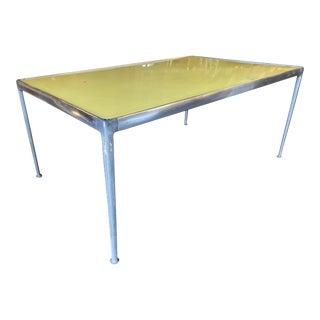 Rare Aluminum Mid Century Dining Table by Richard Shultz, Circa 1966 For Sale
