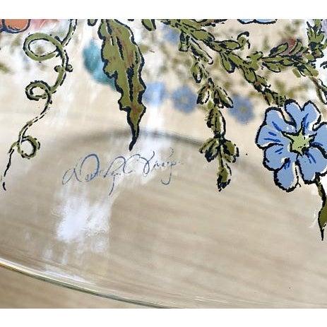 Dorthy Thrope Spring Harvest Floral Salad Bowl 5pc Set - Image 6 of 7