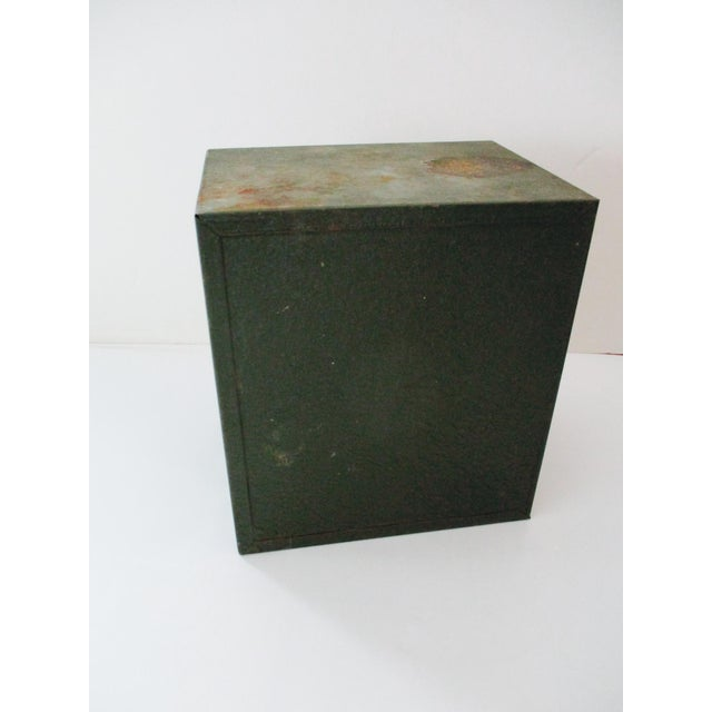Industrial Metal Tool Chest Kennedy Vintage Drawers Cabinet For Sale - Image 4 of 9