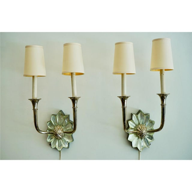 Art Deco French Art Deco Sconces For Sale - Image 3 of 9