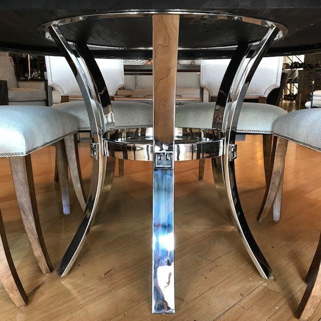 Bernhardt Bernhardt Soho Luxe Dining Set For Sale - Image 4 of 7