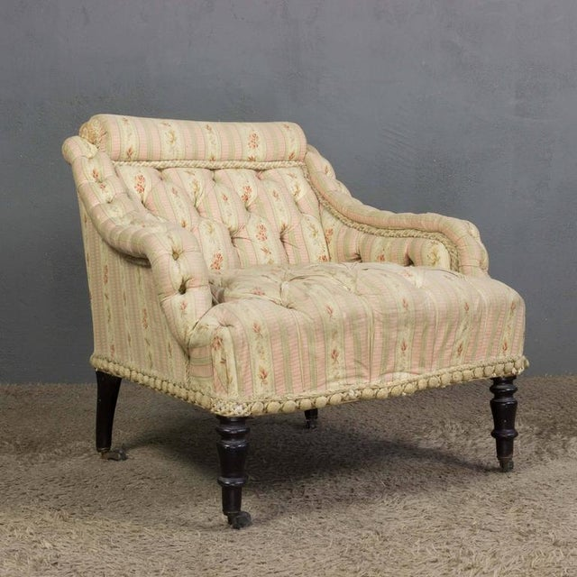 French 19th Century Armchair For Sale - Image 4 of 11