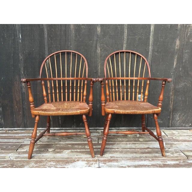 1920s Barnard & Simonds Co. Chairs - Set of 4 - Image 3 of 11