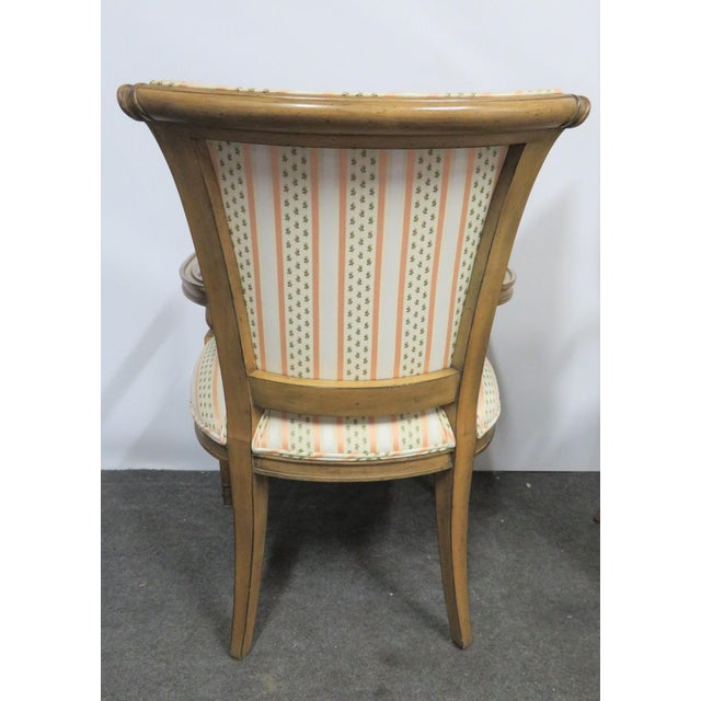Mid 20th Century Louis XVI Style Armchairs - a Pair For Sale - Image 5 of 9