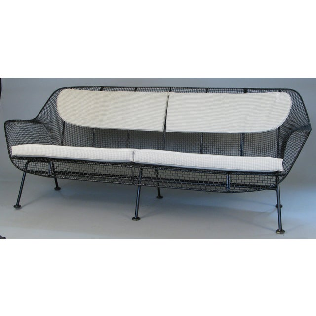 1950s Sculptura Sofa by Russell Woodard For Sale - Image 10 of 10