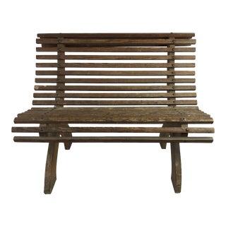 French Child's Bench