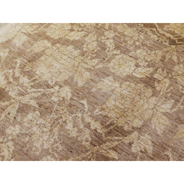 "Hand Knotted Persian Rug - 6'8""x 8' For Sale - Image 10 of 10"