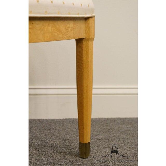 Henredon Scene Two Burled Olive Splat Back Dining / Side Chair For Sale - Image 12 of 13