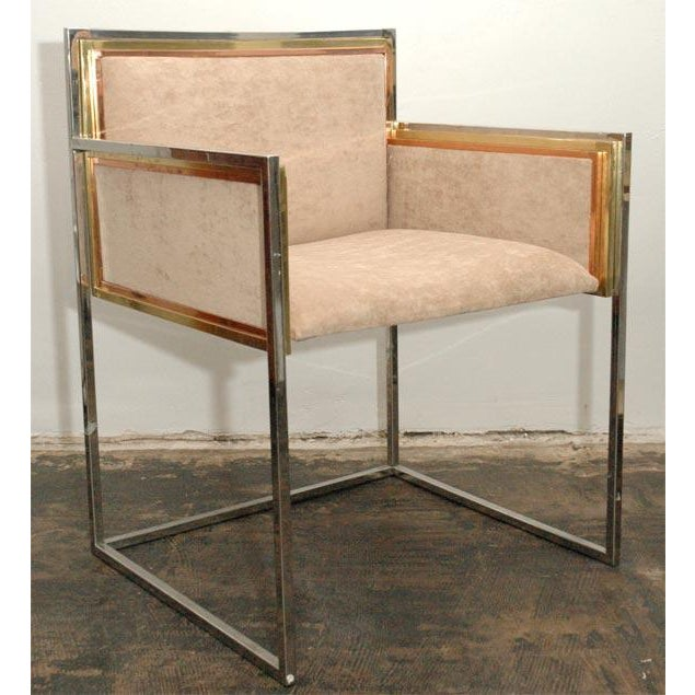 Set of Four Armchairs by Alain Delon for Maison Jansen For Sale - Image 11 of 12