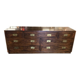 Campaign Style Dresser By Henredon