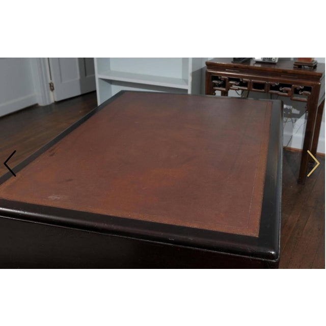 English Art Deco Period Pedestal Desk For Sale In Atlanta - Image 6 of 7